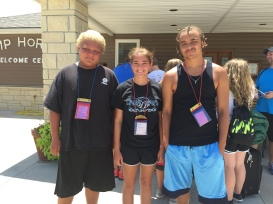 UMYF Campers at Camp Horizon 2016