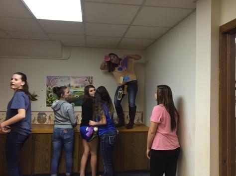 Spring Break Mission work in CUMC Nursery 2016